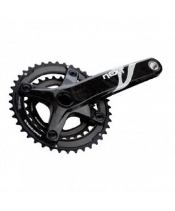 kliky RACE FACE  Next XC 2X10 28/40 175mm Carbon Black