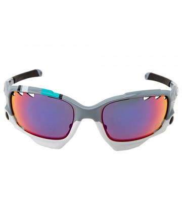 Oakley Racing Jacket brýle / Fog white/fire Iridium vented & black Iridium vented