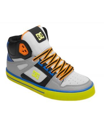 DC Spartan High WC Shoes  Black / Tennis