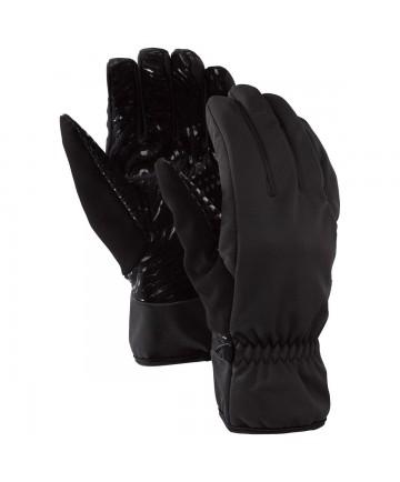 Burton Softshell Liner Glove True Black Mens