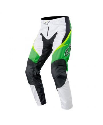 Alpinestars Sight Pants White/Green lime