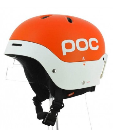 POC Frontal-orange/white