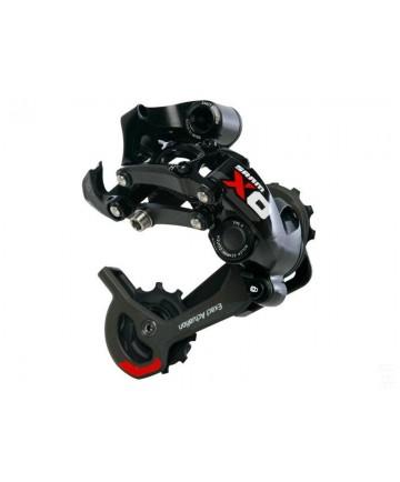 SRAM X.0  Type 2 10kolo, dlouhé vodítko, černo-červená