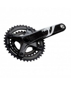 kliky RACE FACE  Next XC 2X10 28/40 175mm Carbon Black