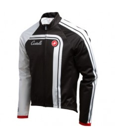 Castelli Duran Thermal Jacket Black/White