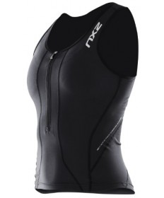 2XU Women's Compression Tri Singlet /black