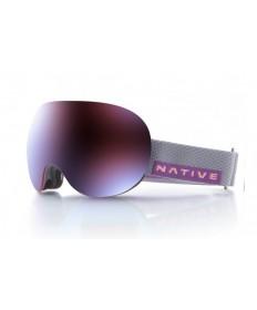 brýle NATIVE EYEWEAR Backbowl, Dark Rip/Rose Blue