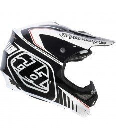 Troy Lee Designs Air Helmet - Delta White-Black
