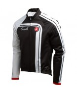 Castelli Duran Thermal Jacket Black/White