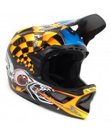 Troy Lee Designs D3 Carbon - Finishline Yellow 2014