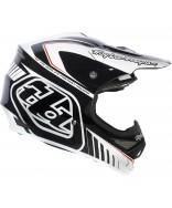 Troy Lee Designs Air Helmet - Delta White-Black