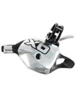 Sram X0 Trigger Shifter 2sp levý stříbrný